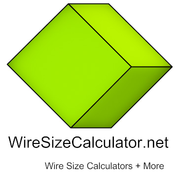 Online wire size calculators tables link navigation home page wire size chart greentooth Image collections